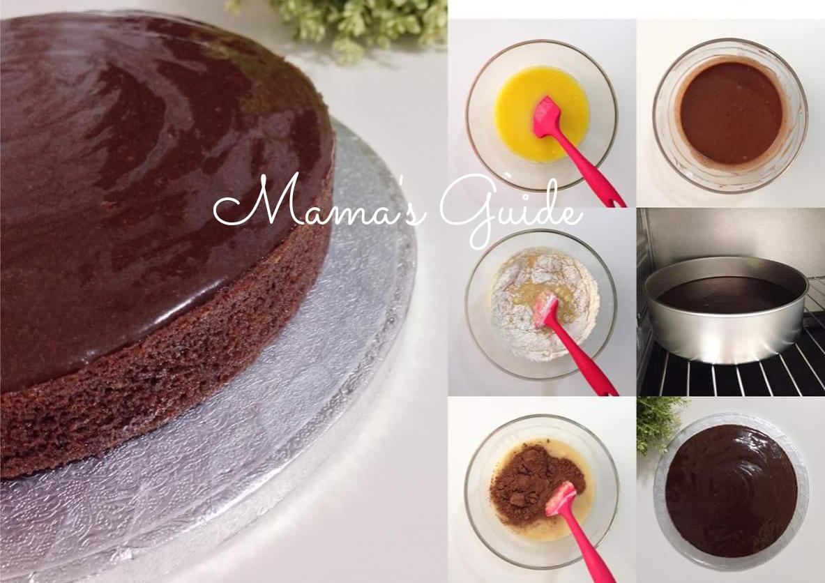 Easy Baked Chocolate Cake