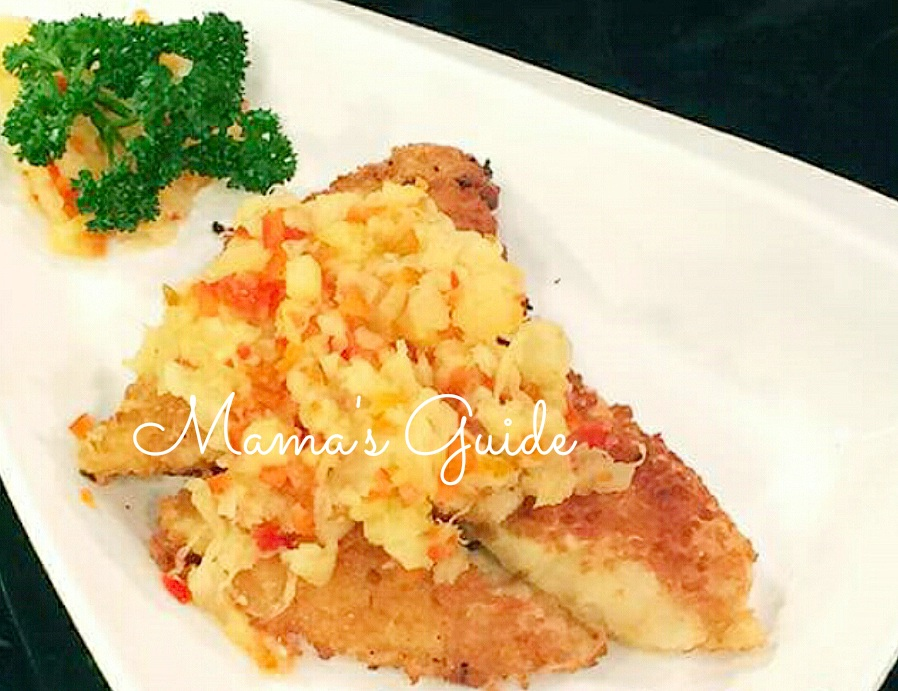 how to cook fish fillet cream dory