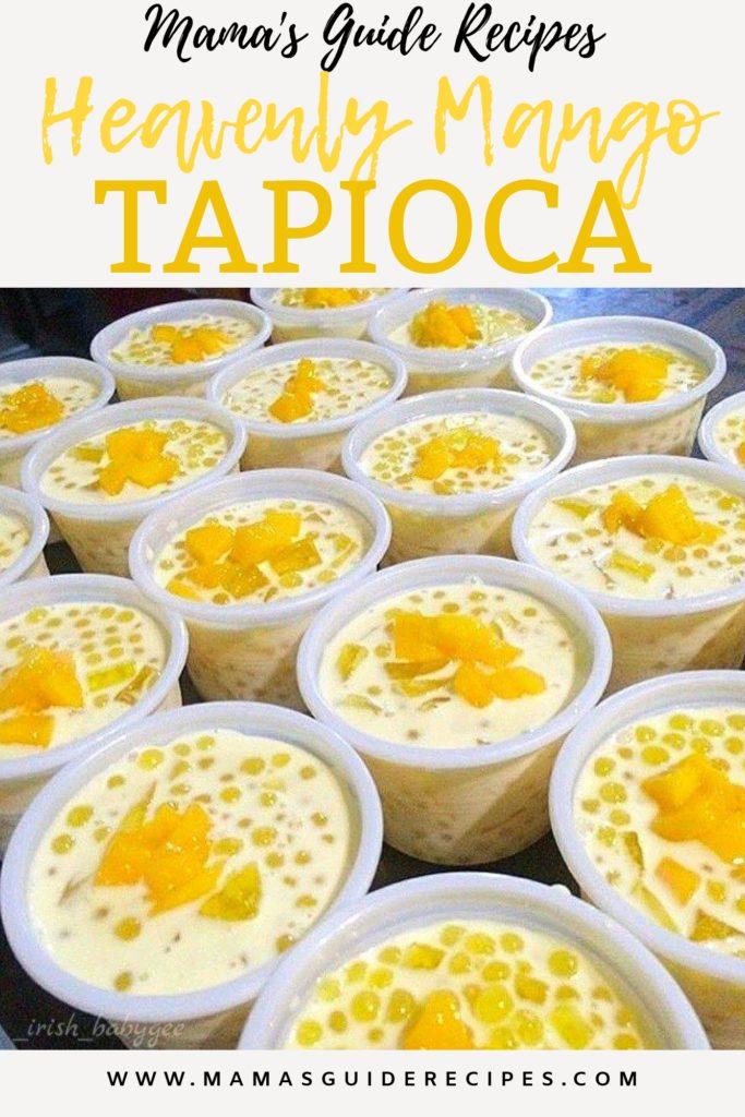 Heavenly Mango Tapioca Recipe