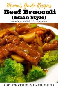 Beef Broccoli (Asian Style)