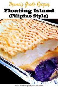 Floating Island Recipe (Filipino Style)