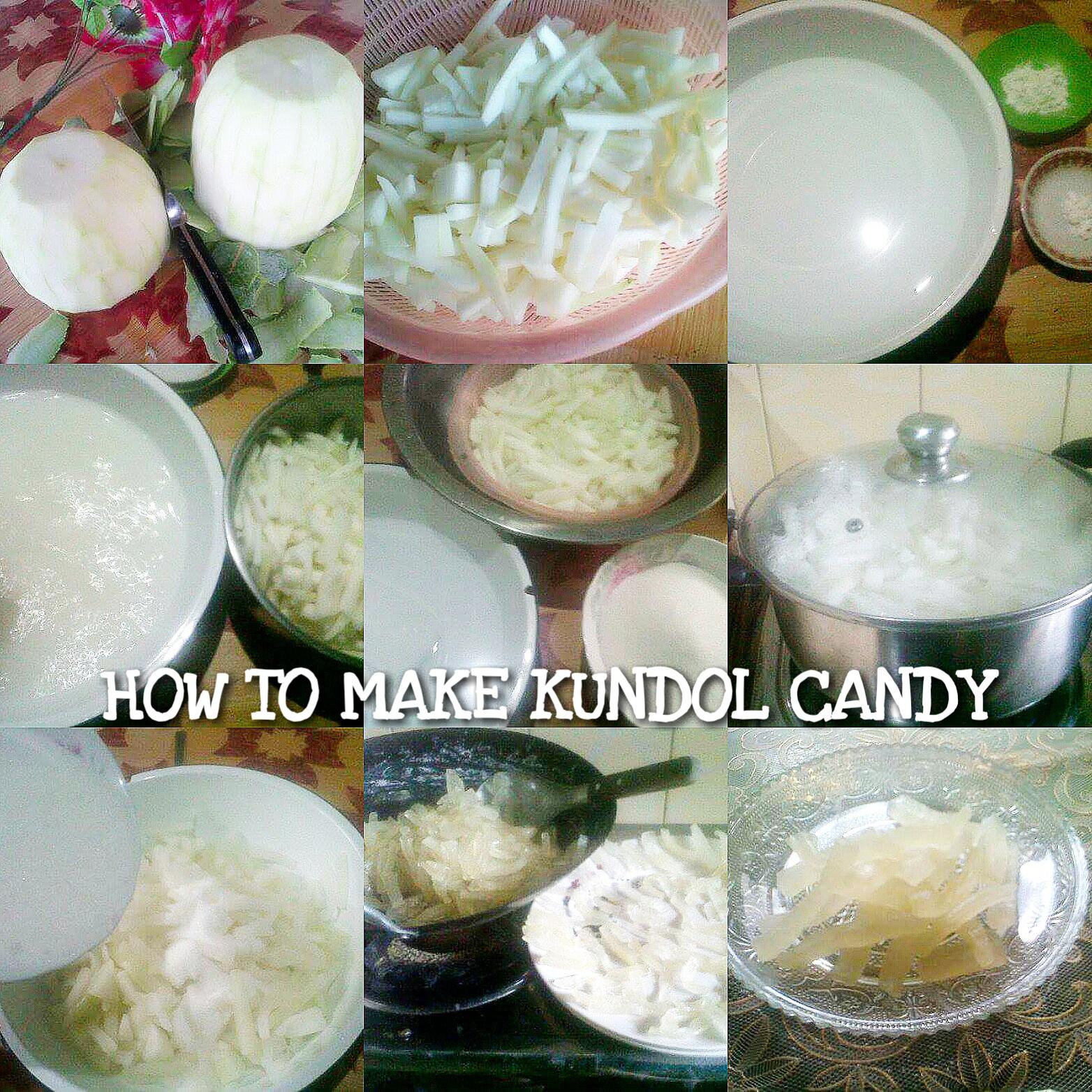 How to make Kundol Candy