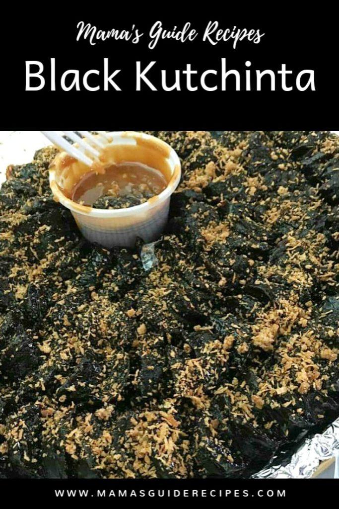 Black Kutchinta (Gotchinta)