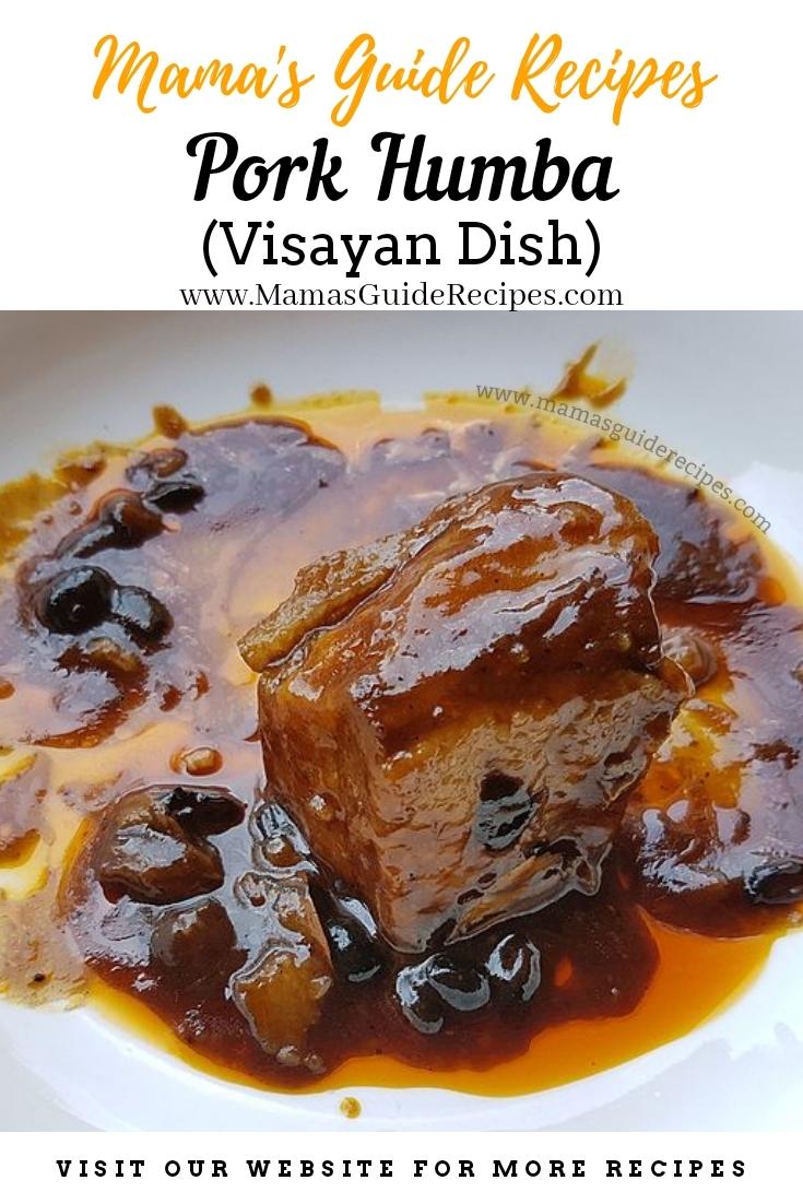 Pork Humba (Visayan Dish)