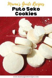 Puto Seko Cookies