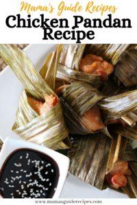 Chicken Pandan Recipe
