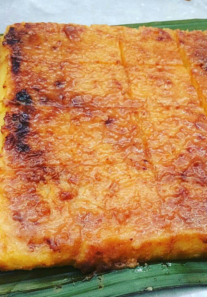Cassava Cake using Cassava Flour