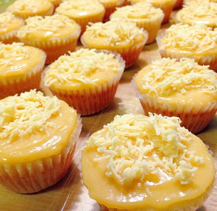 Steamed Yema Cupcakes