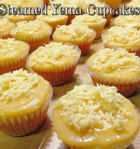 Steamed Yema Cupcakes Recipe, Traditional Filipino Food, Sweets, Filipino Recipes, Filipino Food, Pinoy Recipes, Pinoy Desserts, Pinas Cuisine, Filipino Recipe, Filipino Dishes, Homemade Filipino Recipe, Filipino Favorite Holiday Recipes, Filipino Foods, Filipino Desserts, pinoy style, filipino style, recipe,