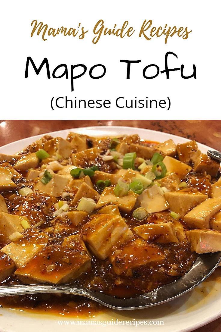 Mapo Tofu Recipe (Tokwa)