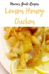 Lemon Honey Chicken