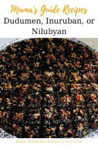 Dudumen, Inuruban, Nilubyan
