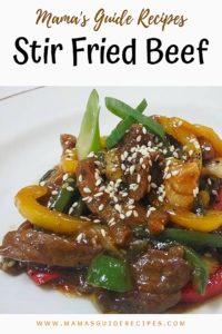 Stir Fried Beef Recipe