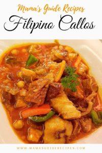 Filipino Callos Recipe