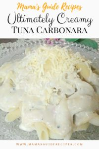 Ultimately Creamy Tuna Carbonara