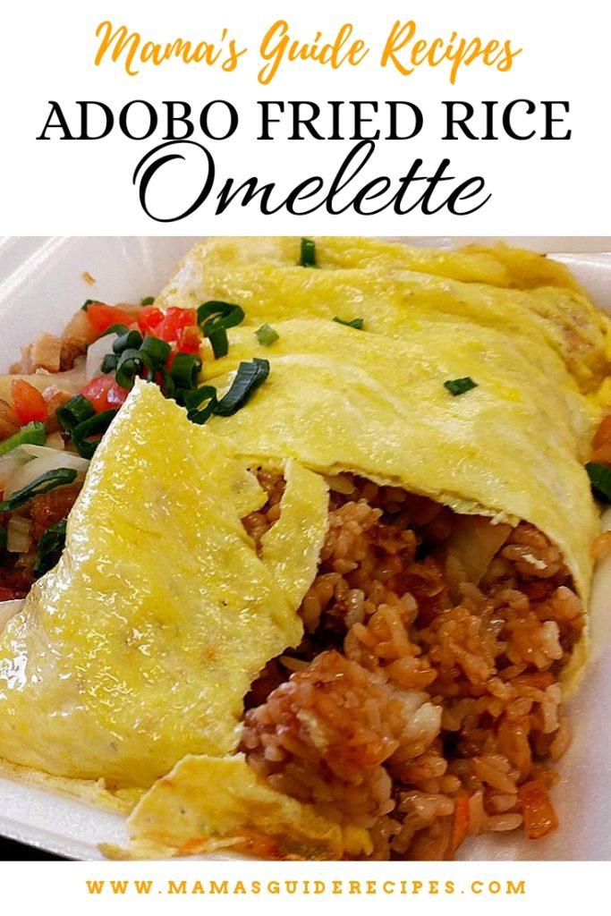 Adobo Fried RiceOmelette