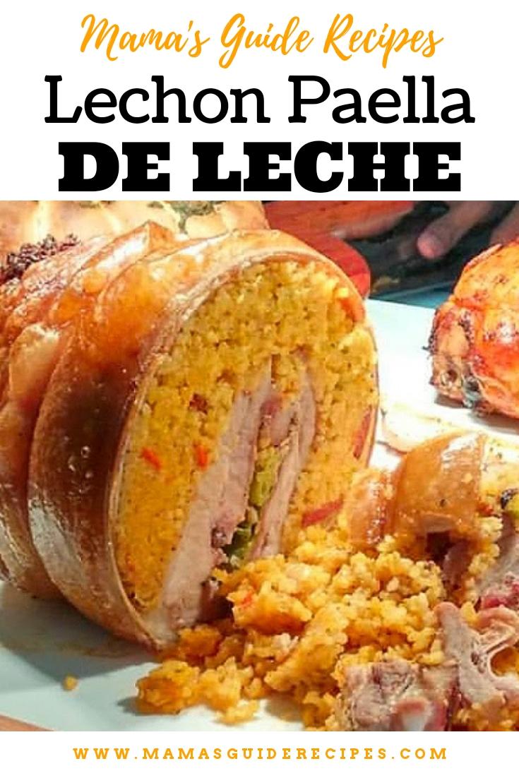 Lechon Paella de Leche