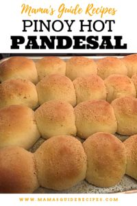 Pinoy Hot Pandesal