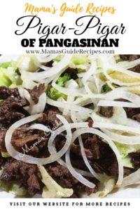 Pigar-Pigar of Pangasinan