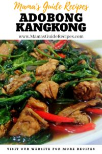 Adobong Kangkong