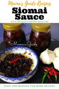 Siomai Sauce Recipe