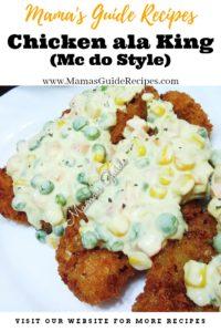 Chicken ala King (Mc do Style)