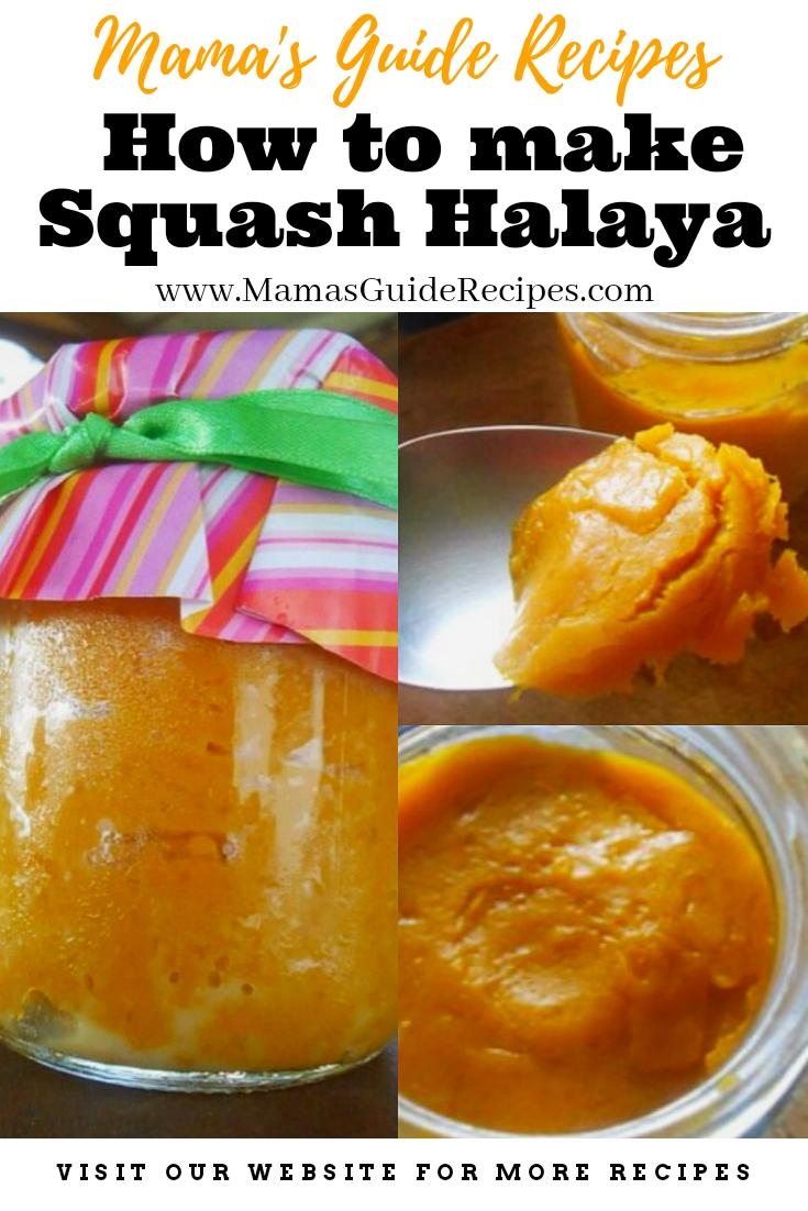 How to make Squash Halaya