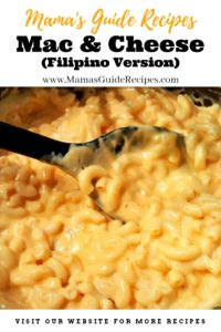 Mac and Cheese (Filipino Style)