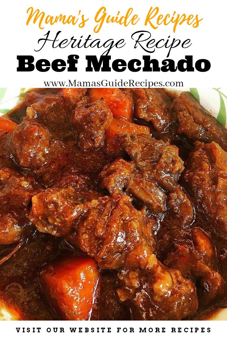 Heritage Recipe of Beef Mechado