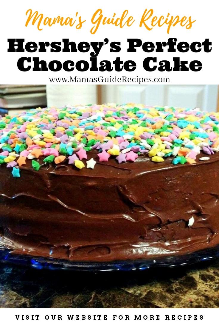 Hershey's Perfect Chocolate Cake