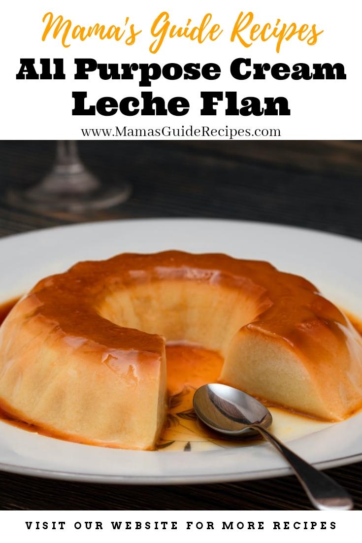 All Purpose Cream Leche Flan