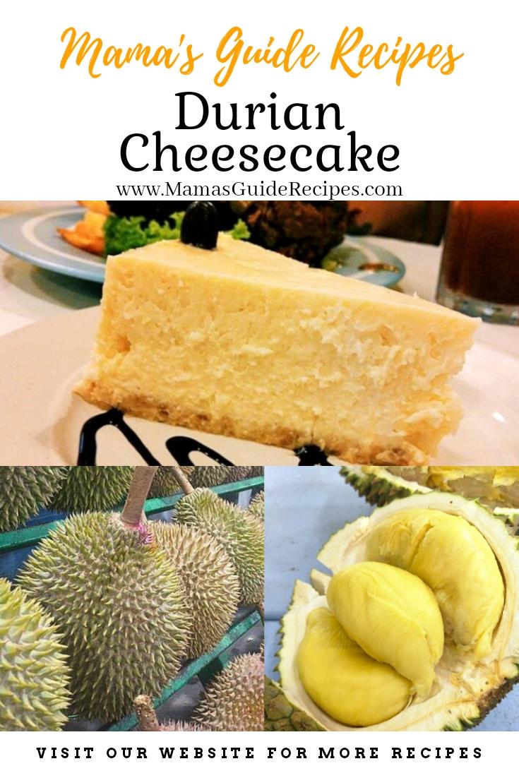 Durian Cheesecake Recipe