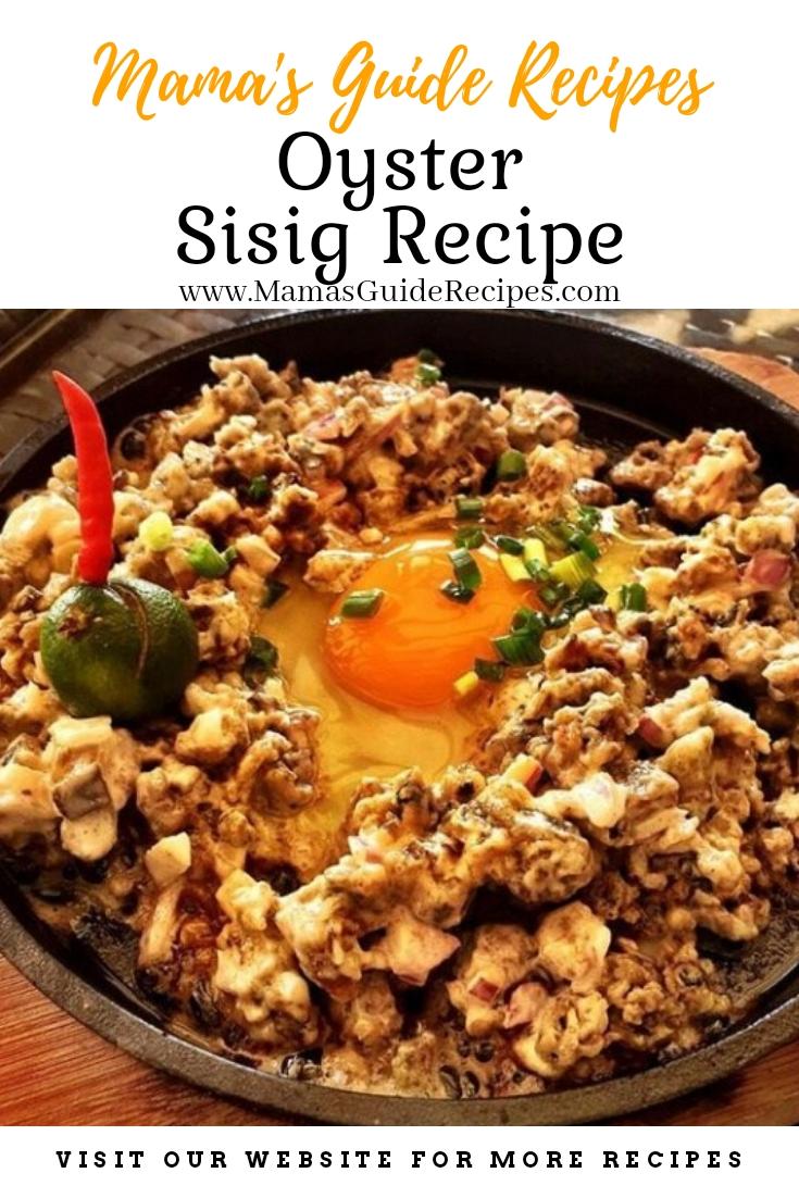 Oyster Sisig Recipe