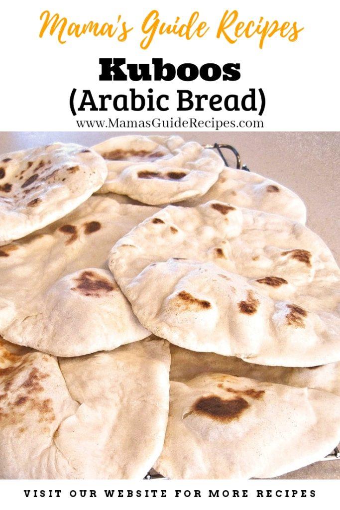 Kuboos (Arabic Bread)