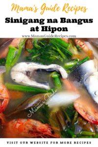 Sinigang na Bangus at Hipon