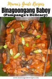 Binagoongang Baboy (Pampanga's Delicacy)