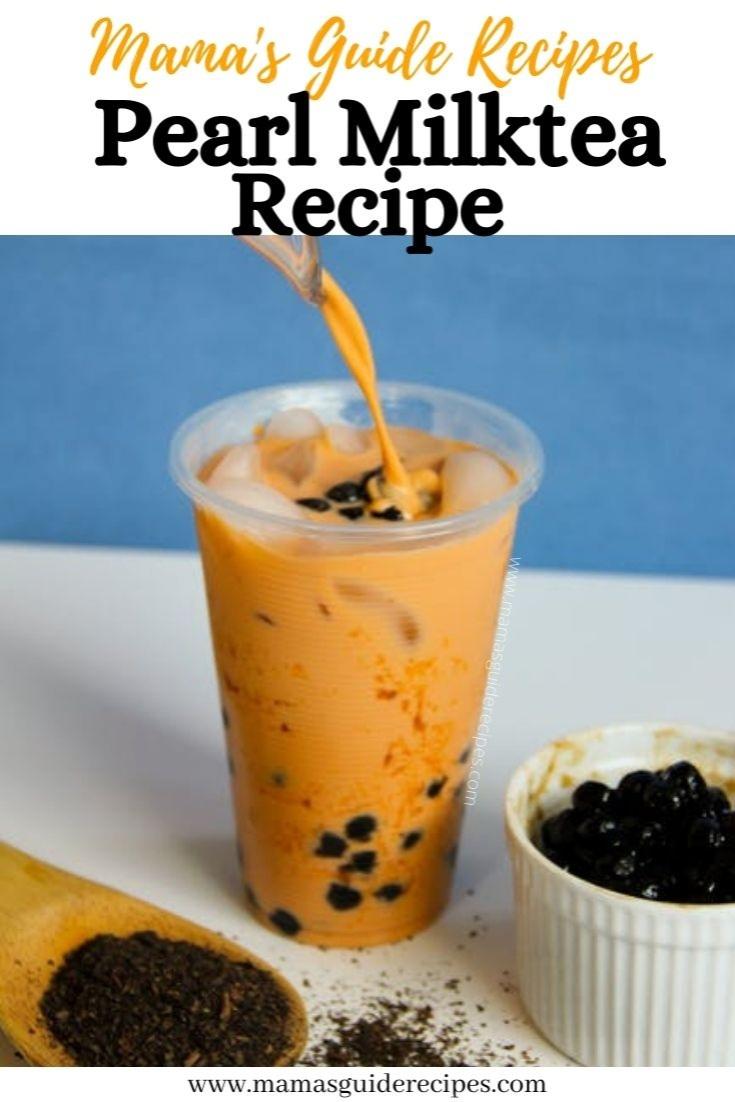 Pearl Milktea Recipe