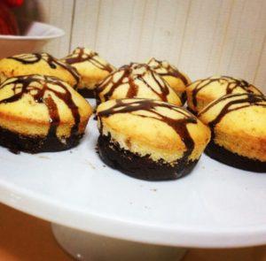 Mini Brownie Butter CakeRecipe
