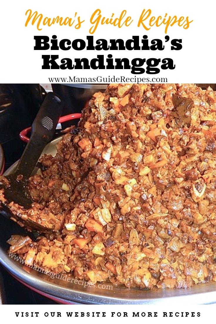 Bicolandia's Kandingga