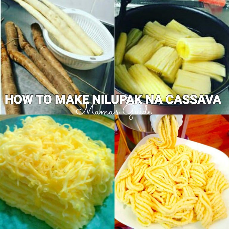How to Make Nilupak na Cassava