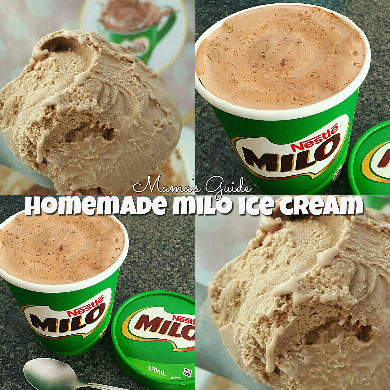 Milo Ice Cream
