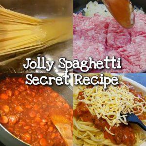 Jolly Spaghetti Secret Recipe