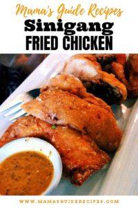 Sinigang Fried Chicken