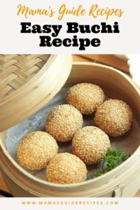 Easy Buchi Recipe