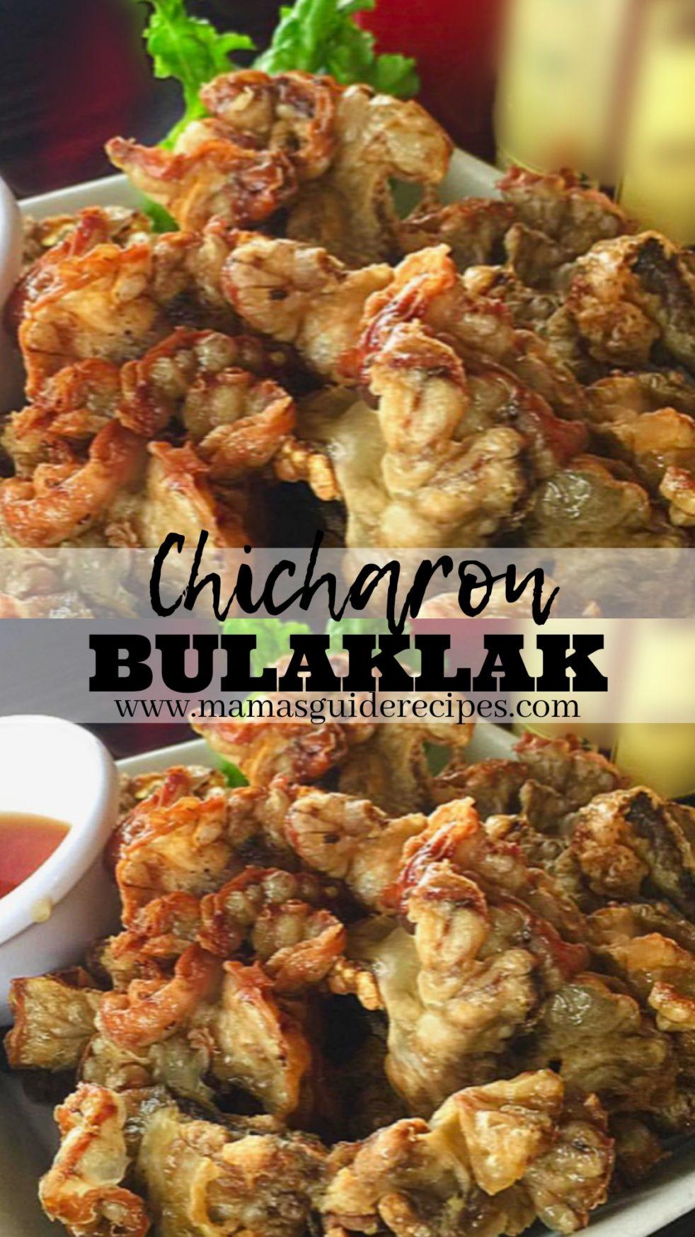 How to Cook Chicharon Bulaklak