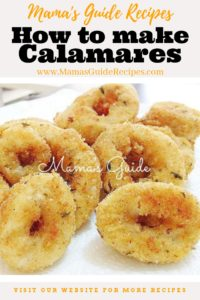 How to make calamares
