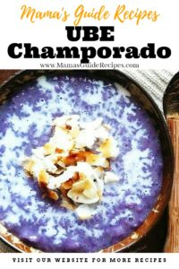 Ube Champorado