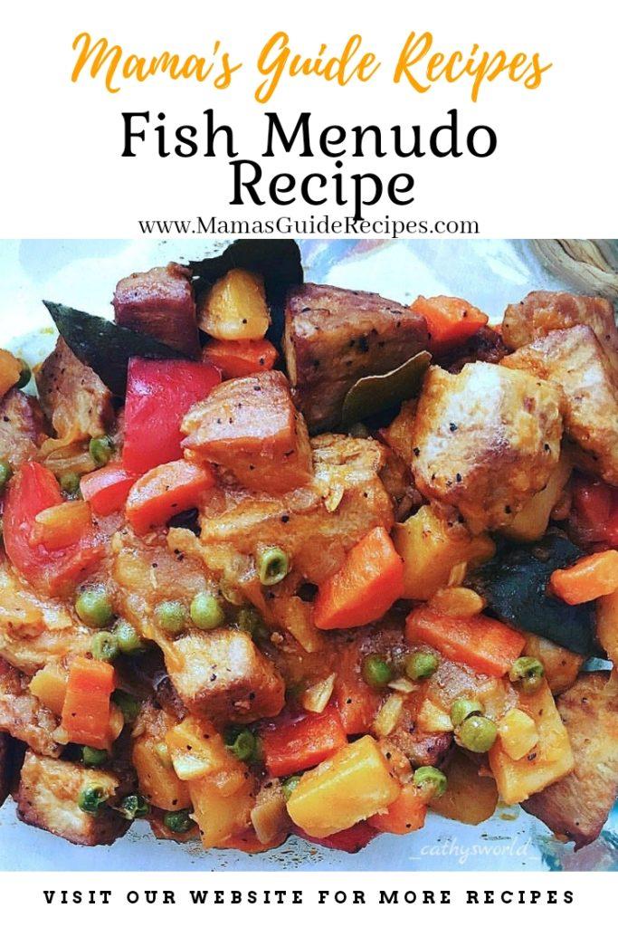 Fish Menudo Recipe