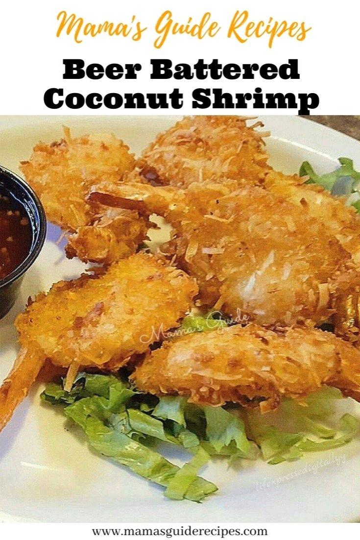 Beer Battered Coconut Shrimp