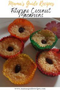 Filipino Coconut Macaroons Recipe